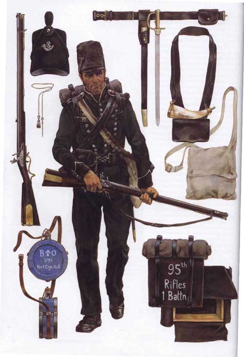 Uniforms of British Army.RIFLEMAN: Elite Soldiers of the Wars against Napoleon