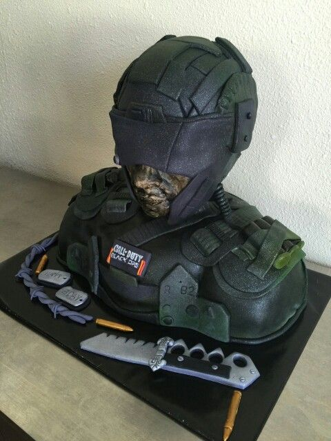 Call of Duty Video Game Cake
