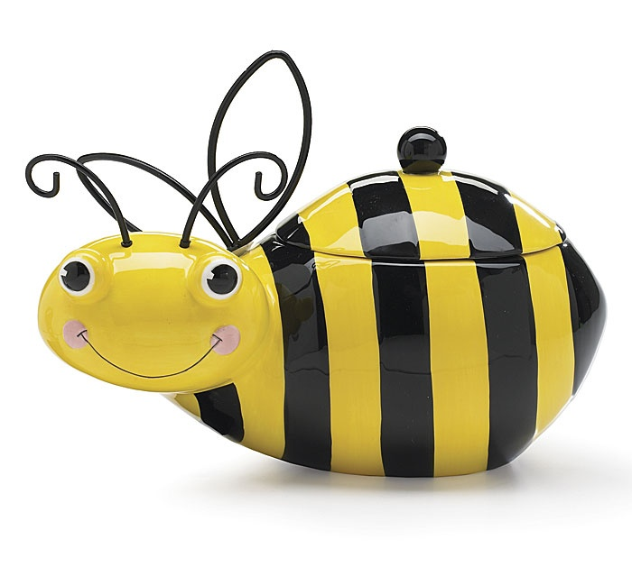 Honey Bumble Bee Cookie Storage Jar Burton Burton New 3799 2673 9 Used New  From The Most Wished For In Cookie Jars List For Authoritative Information  On ...