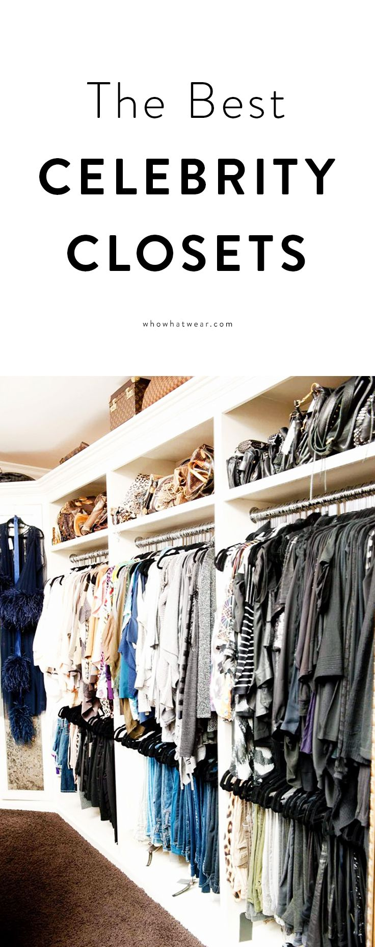 Dreamy Walk In Closets From Khloe Kardashian Chrissy Teigen And More