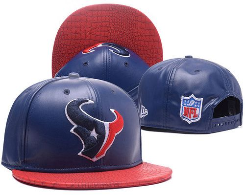 Houston Texans Leather Snapback Hats High Quality|only US$6.00 - follow me to pick up couopons.