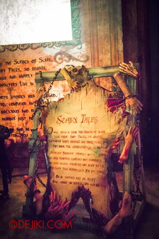 Halloween Horror Nights 4 - Scary Tales scare zone - Skin for Ink