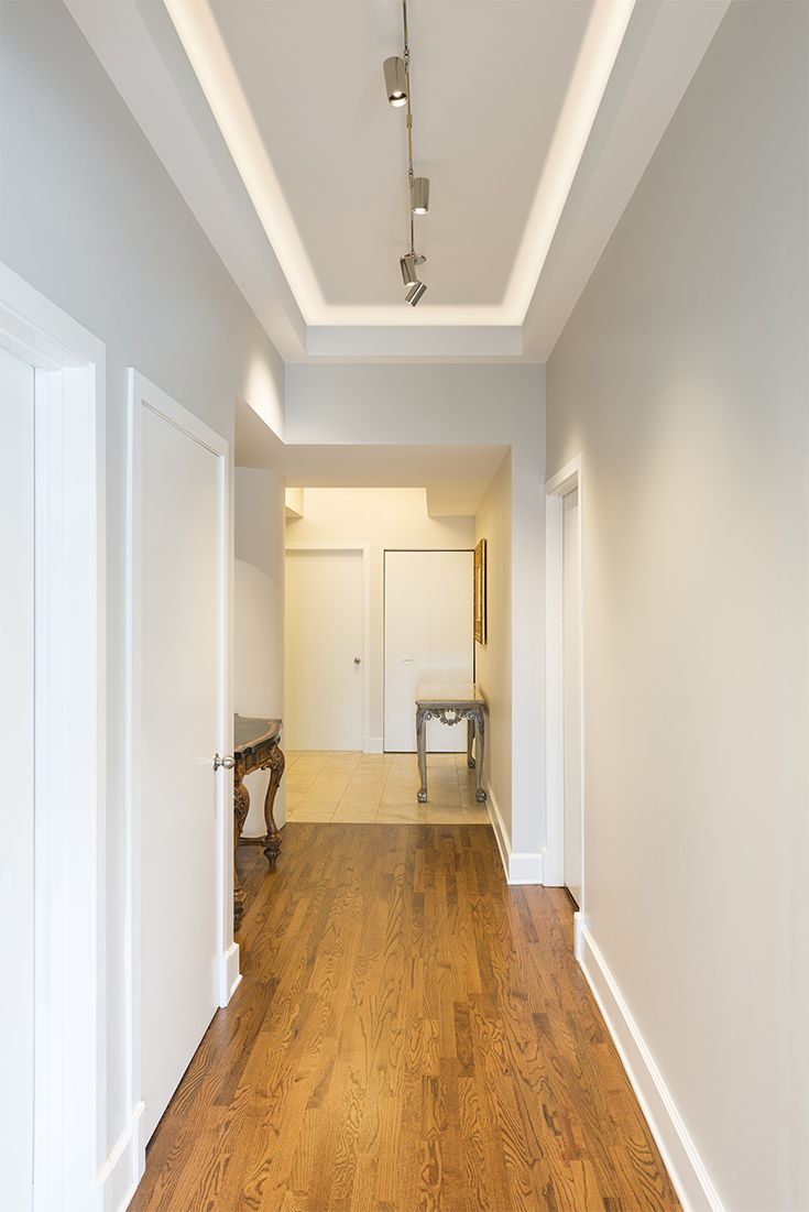 Hallway lighting led lighting solutions illuminate for Ceiling lights for small hallway