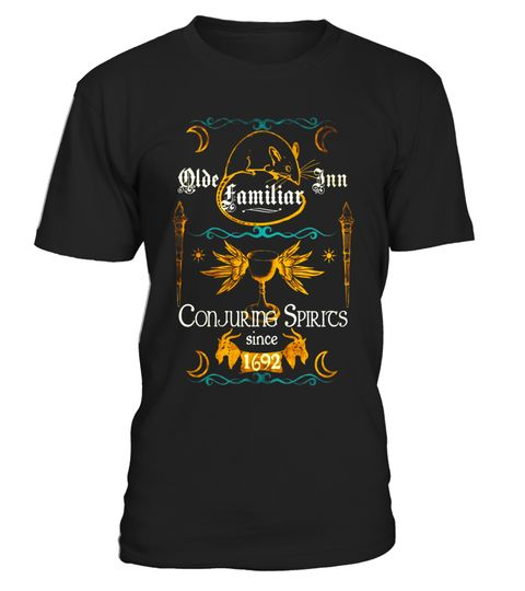 "# Olde Familiars Inn Wiccan Witch 1692 T-shirt .  Special Offer, not available in shops      Comes in a variety of styles and colours      Buy yours now before it is too late!      Secured payment via Visa / Mastercard / Amex / PayPal      How to place an order            Choose the model from the drop-down menu      Click on ""Buy it now""      Choose the size and the quantity      Add your delivery address and bank details      And that's it!      Tags: Have you visited any Olde Familiars…"