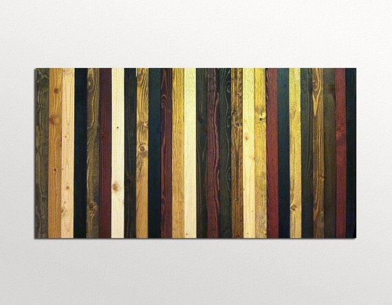 Contemporary Wood Wall Art Decor Sculpture in by ModernWoodWallArt, $365.00