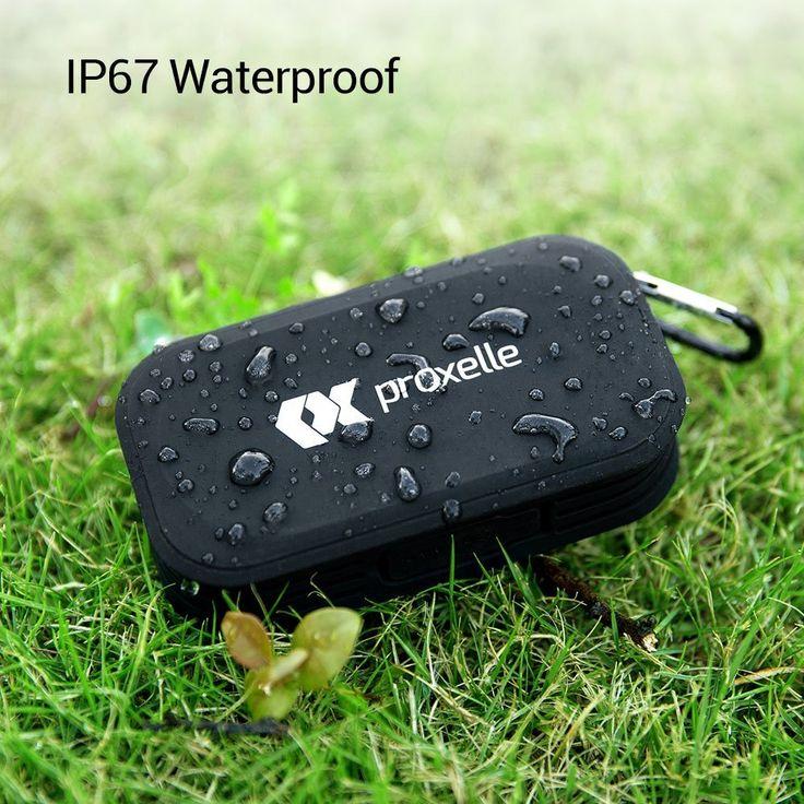 Superisparmio's Post Speaker Proxelle  Altoparlante Bluetooth Impermeabile IP67 - portatile senza fili robusto in 5 colori  A solo 12.99 con coupon: TRFNDPR1   http://ift.tt/2wVZg5g