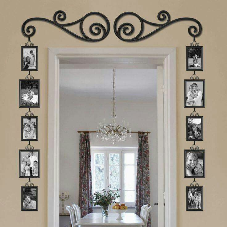 not quite like this but great idea - Picture Frame Design Ideas