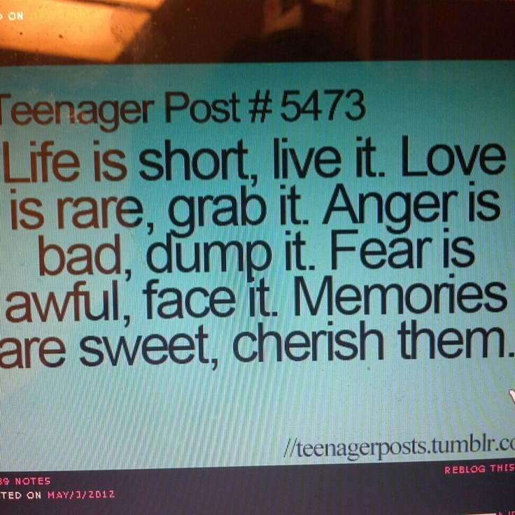 Teenage Quotes: 277 Best Images About Teenage Posts On Pinterest