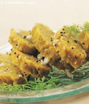 Doodhi Muthia recipe | Indian Microwave Recipes | by Tarla Dalal | Tarladalal.com | #2752