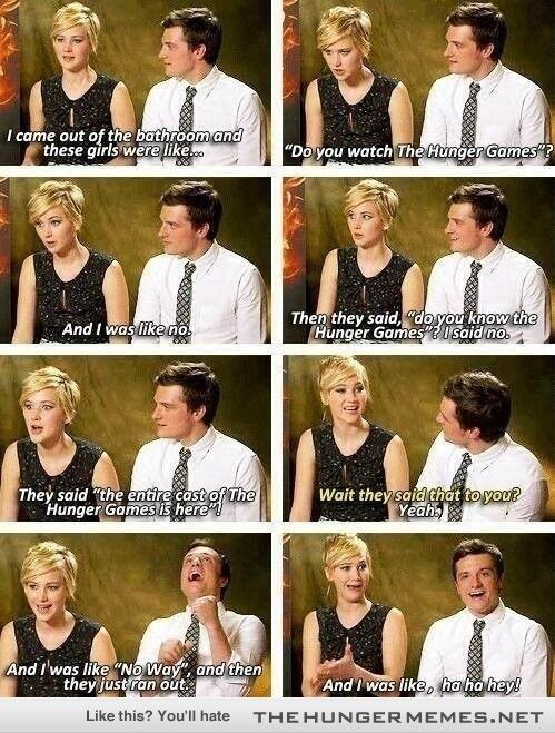 funny peta and katness pics | Katniss and Peeta 'Fans are oblivious'