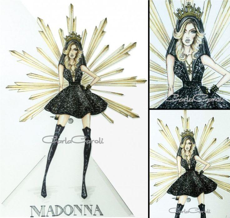 Figurino Madonna by CARLA CAROLI