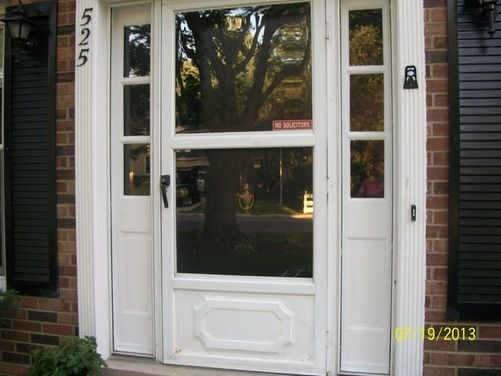 17 best ideas about painted storm door on pinterest red