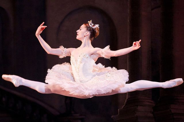 Marianela Nuñez in The Royal Ballet's production of Marius Petipa's The Sleeping Beauty / Photo © Johan Persson/ROH