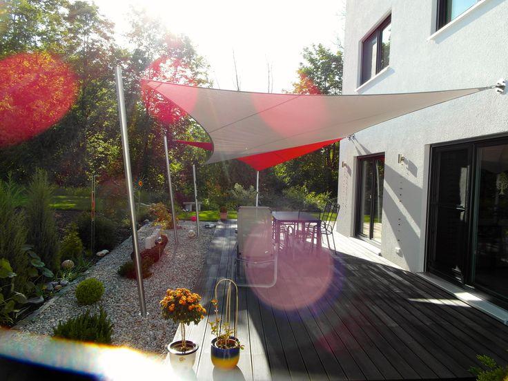 14 besten sonnensegel manuell aufrollbar bilder auf pinterest sonnenschutz garten und. Black Bedroom Furniture Sets. Home Design Ideas