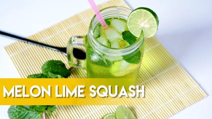 Melon Lime Squash Drink