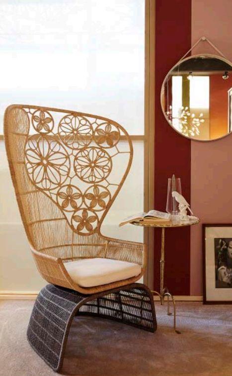 More Than Classic rieten stoel