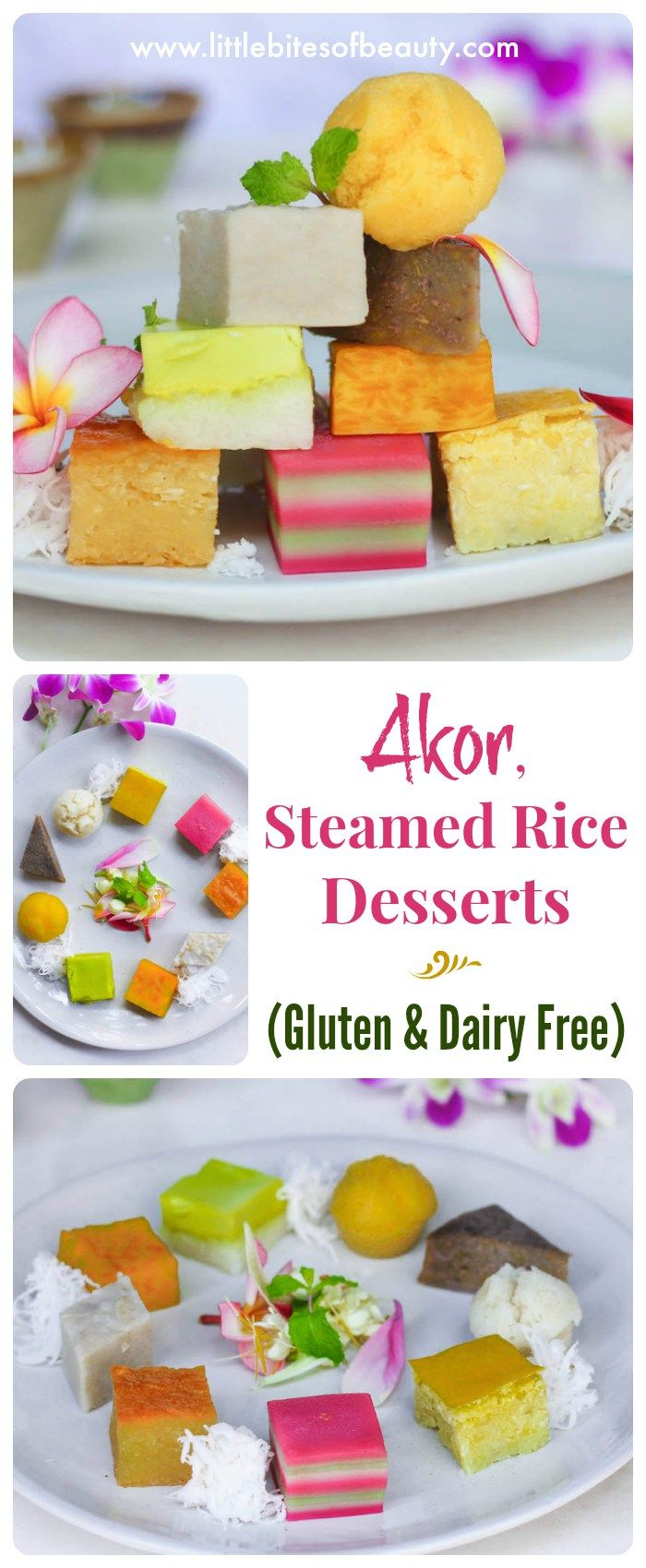 AKOR is a typical Cambodian dessert that's naturally free fro Gluten, Dairy and Sugar!