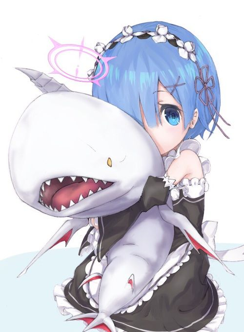 grafika anime and rem
