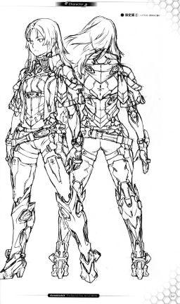 Xenoblade X The Secret File – Art of MIRA - ELMA