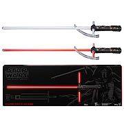 Star Wars: Episode VII - The Force Awakens Kylo Ren Force FX Deluxe Lightsaber Replica, Not Mint