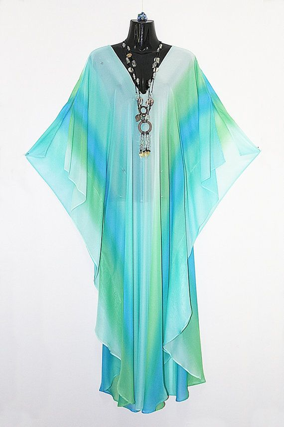 Extra Light Chiffon Full length Kaftan by Molly by MollyKaftans, $99.00