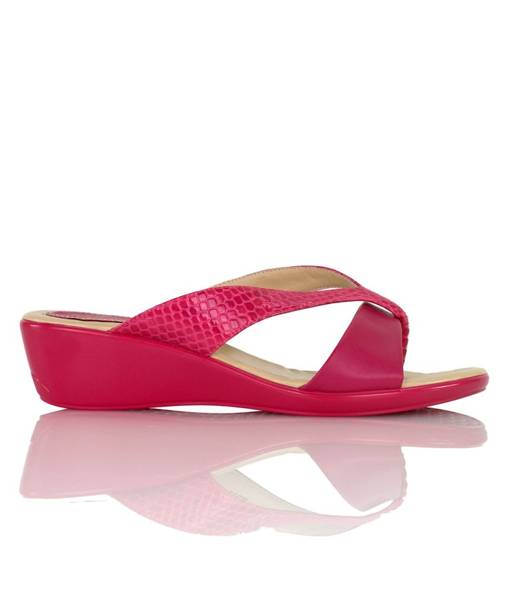 Cosmopolitan - Playful wedge sandal from our Cocktails on the Beach range