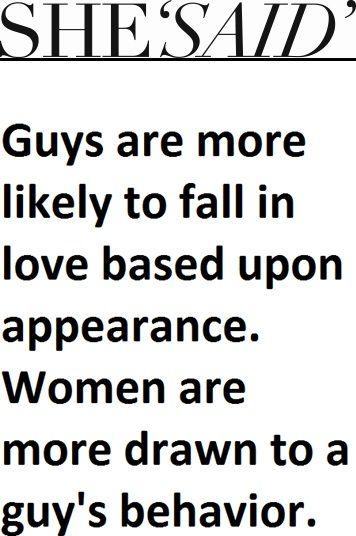 guys behavior women love firefighters