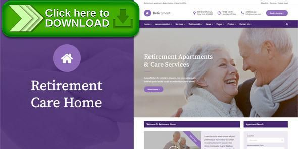 [ThemeForest]Free nulled download Retirement Care Home - WordPress Theme from http://zippyfile.download/f.php?id=28126 Tags: aged care, apartments, assisted living, care home, elderly, grandad, grandma, grandparents, health care, housing, nursing home, retirement, senior, Senior Citizen, sheltered accommodation