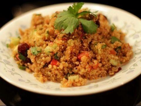 Quinoa Recipe -Spanish Style - YouTube