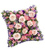 Pink and Mauve Cushion