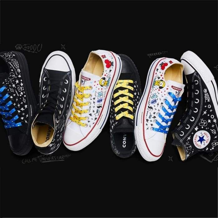 dadf0c376364 BTS BT21 X CONVERSE Shoes (3 Styles) in 2019
