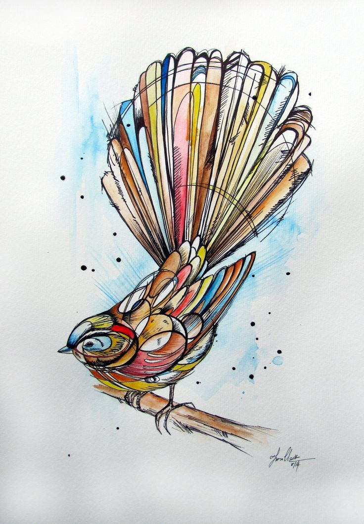 Fantail by Fiona Clarke