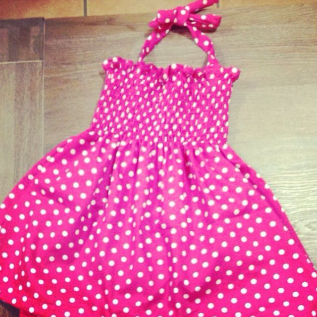 Beautiful sheering halter neck dress made by Zaylie_Co