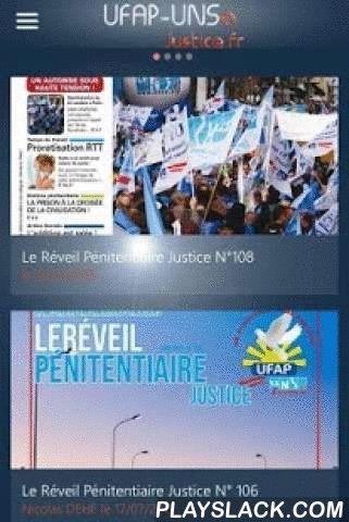 UFAP UNSa Justice  Android App - playslack.com ,  UFAP-UNSa Justice, Premier Syndicat de l'Administration PénitentiaireDécouvrez la nouvelle application gratuite de l'UFAP-UNSa Justice disponible pour smartphones et tablettes Android !Retrouvez l'intégralité des articles Nationaux du site UFAP.Fr et vivez l'actualité d'une nouvelle façon L'application vous permet de consulter les Tracts Nationaux, les Vidéos, les Dates de CAP et les Offres Adhérents.Bonne lecture ! UFAP-unsa Justice, First…