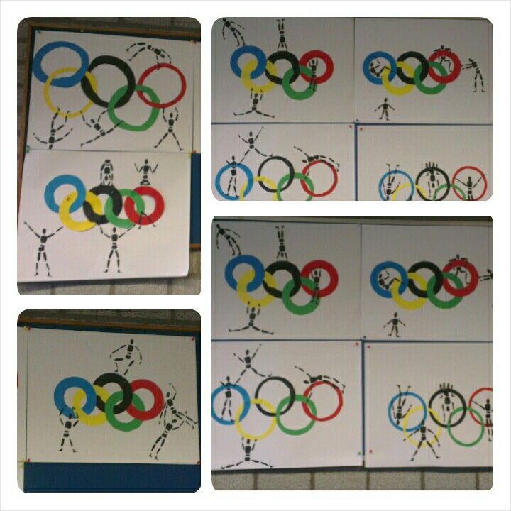 Knutselopdracht olympische spelen #olympic #games #art