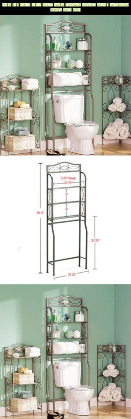 63 Ideas Bath Room Organization Above Toilet Products   – bath — – #bath #Ideas…   – Home decor