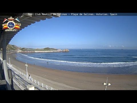 Real Club Náutico de Salinas - Playa de Salinas, Asturias, Spain. Cam Oeste
