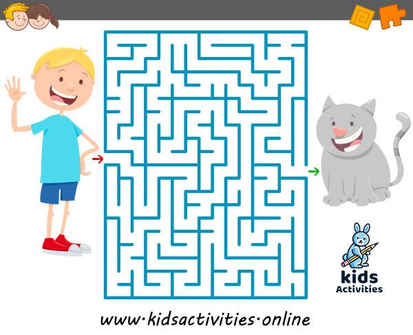 Funny Mazes For Kids Printable Puzzle For Children Kids Activities Mazes For Kids Printable Mazes For Kids Maze Games For Kids