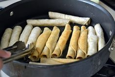 Easy Homemade Taquitos Recipe - DIY, recipe - Little Miss Momma