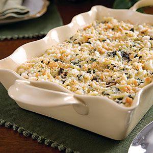 Spinach Macaroni & Cheese