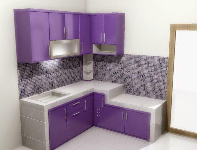 Contoh Desain Dapur Minimalis 3x3 Di 2020 Desain Dapur Dapur Desain