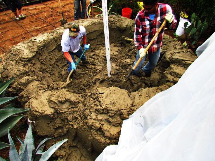 Groundwork. #clifrock #dirt