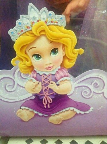 Les 30 meilleures images du tableau b b s princesses disney sur pinterest b b princesse - Bebe raiponce ...