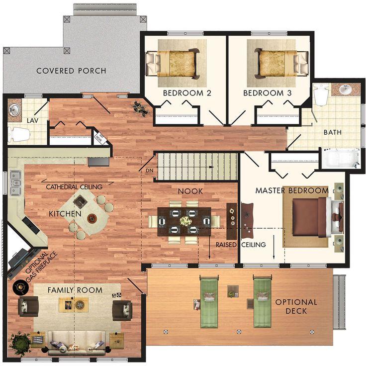 Les 488 meilleures images à propos de Chez moi sur Pinterest Plans - Logiciel Pour Faire Un Plan De Maison
