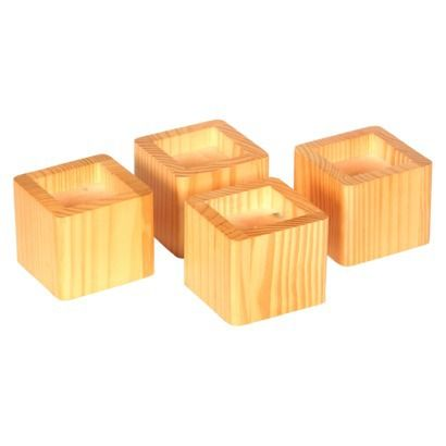 """Richards Homewares 4"""" Bed Risers $18.59 4'' bed risers"""