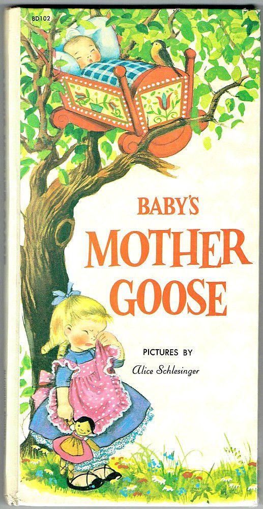 ''Baby's Mother GOOSE'' 1959, illus. Alice Schlesinger | eBay