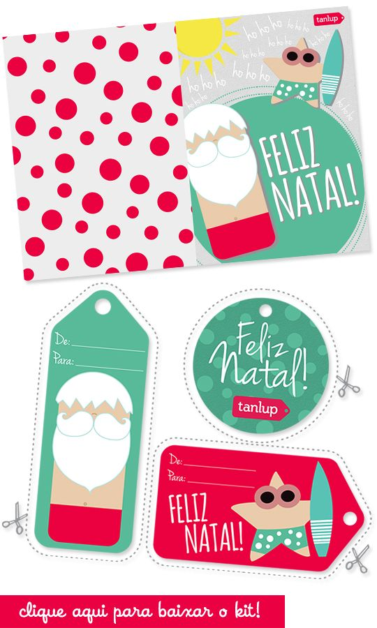 Kit de Natal do Tanlup para download :)                                                                                                                                                                                 Mais