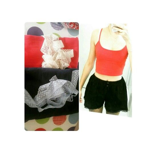 Cute black shorts also in different colours !