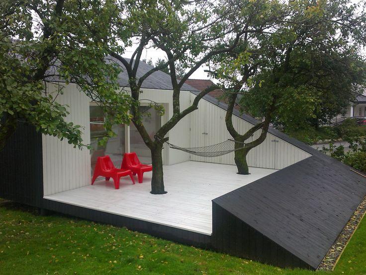 La deg inspirere av 7 norske hagebyggverk og stem frem din favoritt!