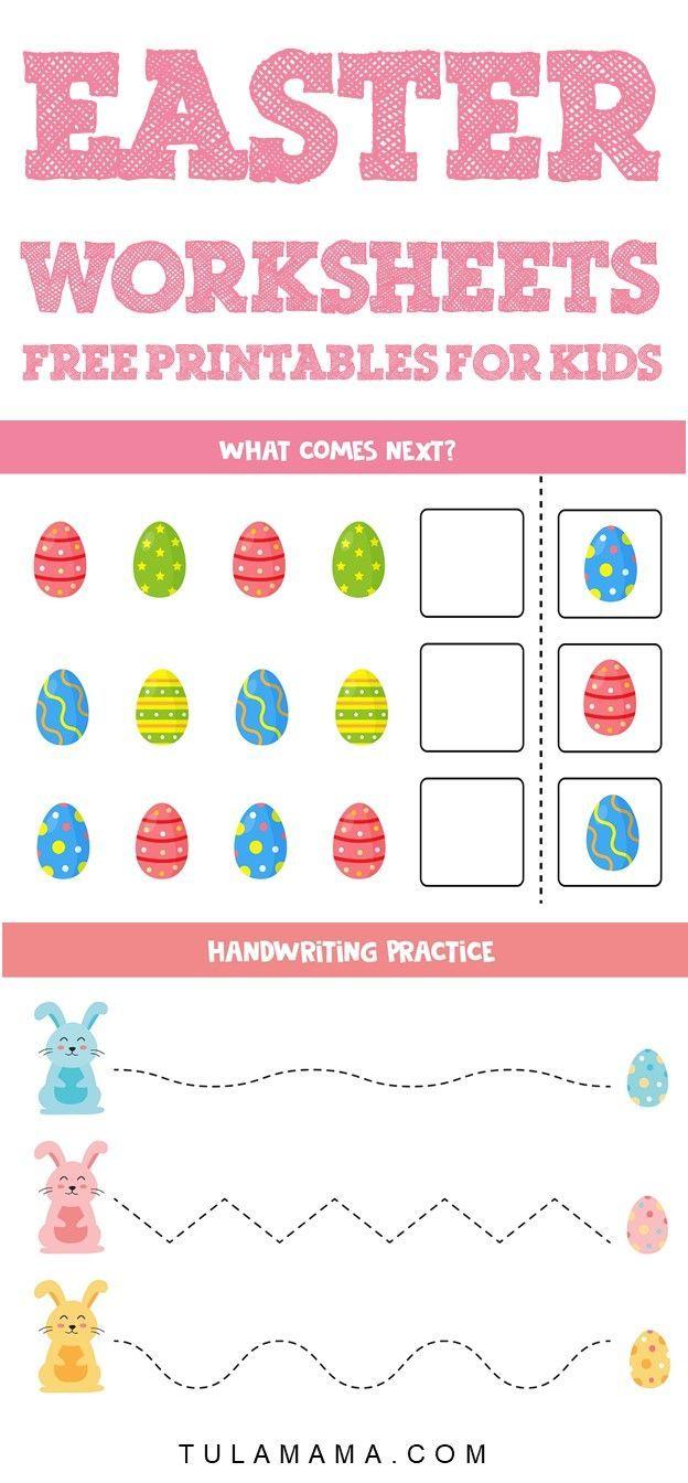 Free Printable Easter Worksheets For Little Ones Easter Worksheets Easter Printables Free Free Printables Kids [ 1344 x 624 Pixel ]